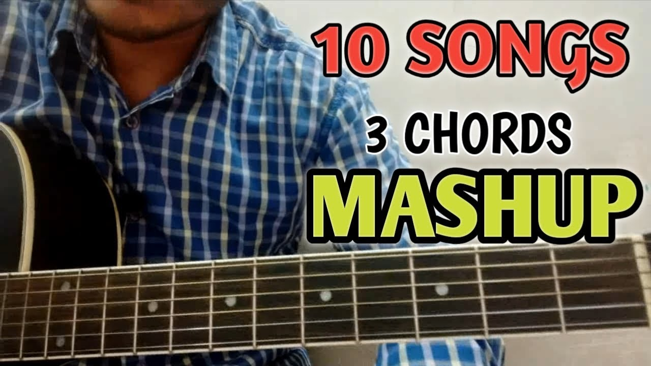 10 BOLLYWOOD SONGS JUST 3 EASY CHORDS – Quick n Fast Guitar Tutorial- Vikas Sharma- VGuitarLearning