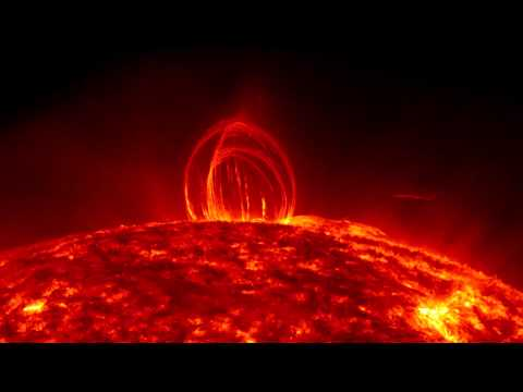 NASA Captures a Rare and Spectacular Event, Rain on the Sun – Video