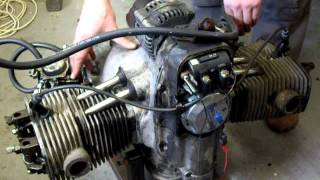 10. URAL 750 Engine, first start after years! Build year 2003