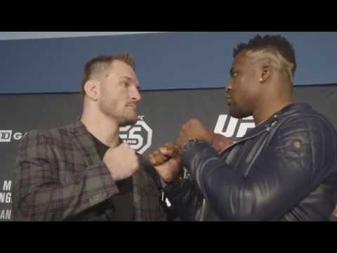 UFC 220: Media Day Faceoffs