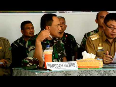 Pangdam Wirabuana Mengajak Teroris Berjihad Mensejahterakan Masyarakat Poso