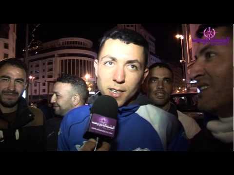 ليلة بيضاء بشوارع طنجة احتفالا بصعود فارس البوغاز إلى قسم الأضواء
