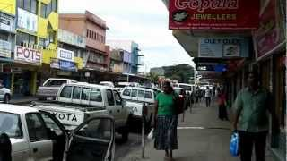 Lautoka Fiji  city photo : Lautoka, Fiji, city center downtown July 24, 2012, authentic/real-time soundtrack
