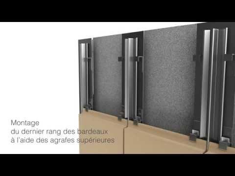 Argeton Montage vertical avec ossature porteuse