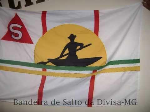 Bandeira de Salto da Divisa MG 1