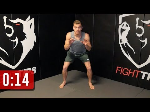 Lower Body Agility Workout for Fighters' Footwork