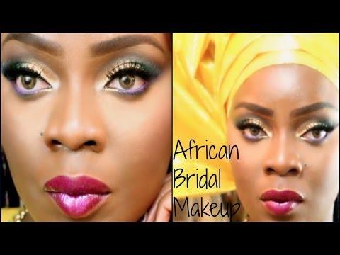 [African] Nigerian Bridal Makeup | SongbirdDiva4Life Collab