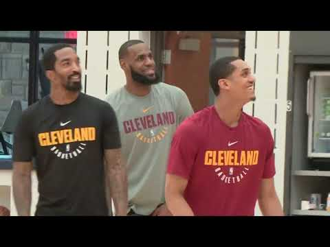 Cleveland Cavaliers return to practice after Game 1 loss to Pacers