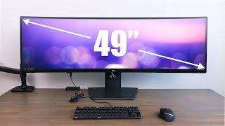 Dell U4919DW Ultrawide Monitor - Best Single Monitor Productivity Setup