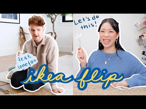 IKEA FLIP: diy makeover feat. Lone Fox | WITHWENDY