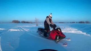 1. Arctic Cat Bearcat 570 XT , Linx reiv rs 600, с падениями