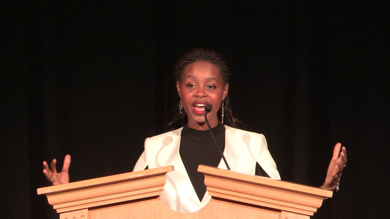 Clemantine Wamariya (author of The Girl Who Smiled Beads) at the FYE® Conference 2019