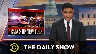 Video New Yorkers React to the Manhattan Bombing: The Daily Show MP3, 3GP, MP4, WEBM, AVI, FLV Oktober 2018