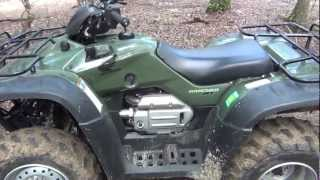 10. 2007 Honda Rancher 4x4 Electric Shift Automatic GPS