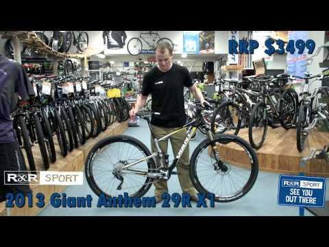 2013 GIANT ANTHEM X 29ER 1 MOUNTAIN BIKE REVIEW