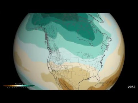 Projected U.S. Precipitation Changes by 2100