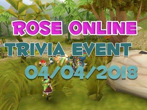 Runnin' Round ROSE: April Trivia!