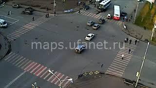 18+. ДТП 2 ноября г.Уфа, перекресток Цюрупы — Кирова