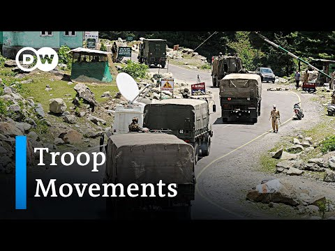 India and China deploy additional troops in Ladakh border conflict | DW News