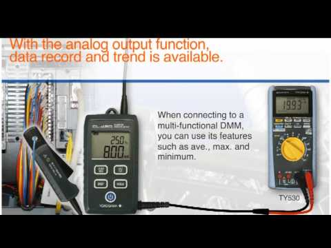 CL420 Clamp-On Process Meter Application Guide