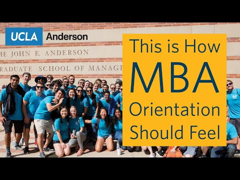 This Is How MBA Orientation Should Feel