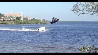 8. Seadoo RXP Ramp jump and crash!