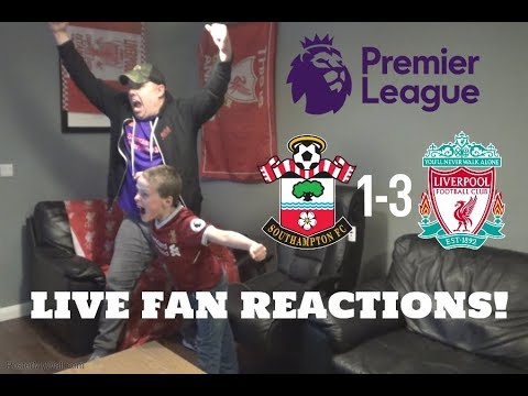 Southampton 1-3 Liverpool, April 5th 2019, LIVE Fan Reactions!