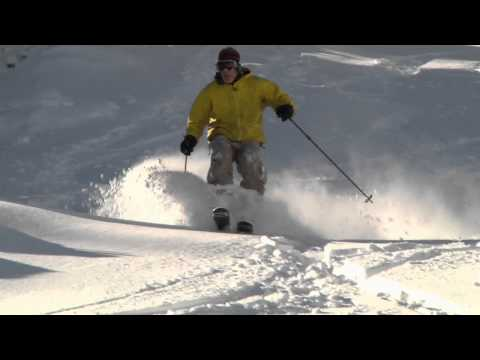 White Christmas Powder Video