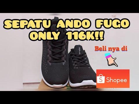 Unboxing & Review Sepatu Ando Fugo 116k