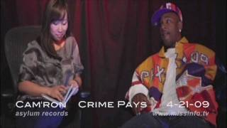 Where's Cam'ron Part 2, interview with Miss Info