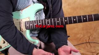 Blues Rock Soloing Lesson - Buddy Guy and SRV inspired Blues Lick - Blues Guitar Lesson - how to
