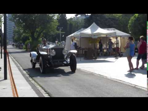 Historický rolls-royce v Michalovciach