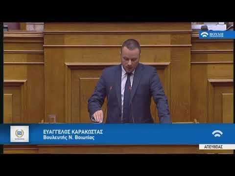 Ε.Καρακώστας(Ειδ.Εισ.ΧΡΥΣΗ ΑΥΓΗ)(Προϋπολογισμός 2019)(12/12/2019)