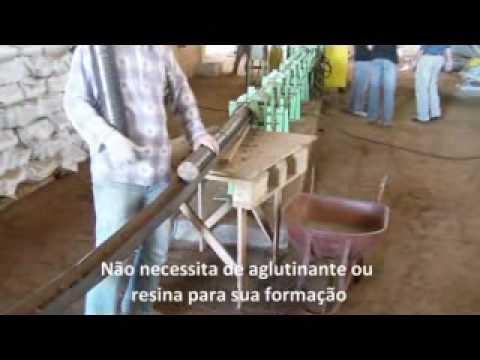 Briquetadeira Mecânica Lippel BL 95 - Fabrique Briquetes de Serragem com Alta Produtividade