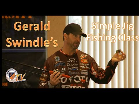 Simple Jig Fishing w/ GERALD SWINDLE- Bass Fishing Tips, Tricks, and Techniques