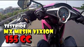 Video JUPITER MX MESIN VIXION JADI 155CC - GASS DIKIT WHEELIE MP3, 3GP, MP4, WEBM, AVI, FLV Maret 2019