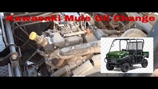9. How To Do An Oil Change On A Kawasaki Mule 2015