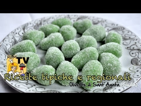olivette di sant'agata - dolce catanese