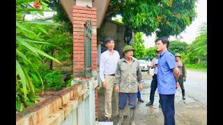 Đồng chí Chủ tịch UBND thành phố Uông Bí Nguyễn Mạnh Hà kiểm tra tiến độ dự án cải tạo, nâng cấp tuyến đường Yên Tử