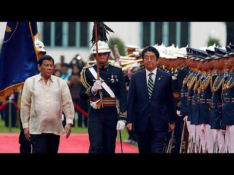 Διήμερη επίσκεψη του Ιάπωνα πρωθυπουργού στις Φιλιππίνες