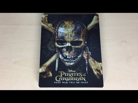 Pirates Of The Caribbean: Dead Men Tell No Tales - Best Buy Exclusive 4K Ultra HD Blu-ray SteelBook