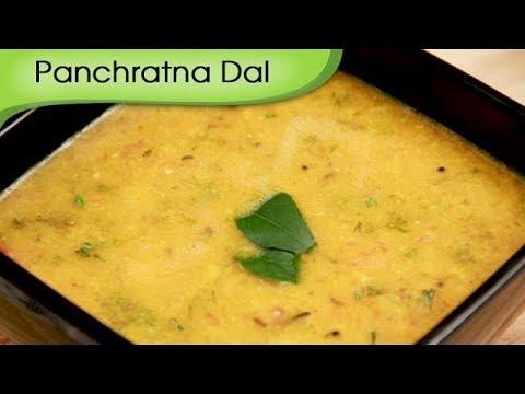 Panchratna Dal – Punjabi Vegetarian Recipe by Ruchi Bharani