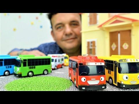 Video Vídeo de juguetes Autobuses Tayo. Coches para Niños download in MP3, 3GP, MP4, WEBM, AVI, FLV January 2017