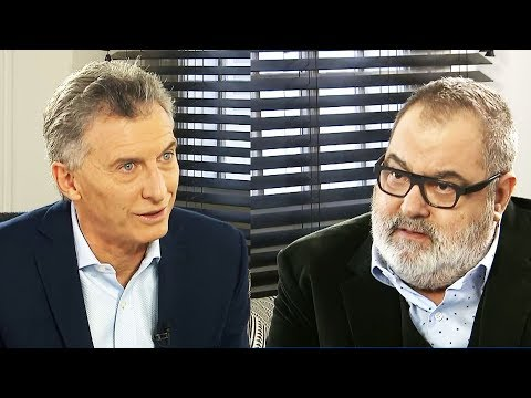Jorge Lanata mano a mano con Mauricio Macri - Entrevista completa 17/06/2018