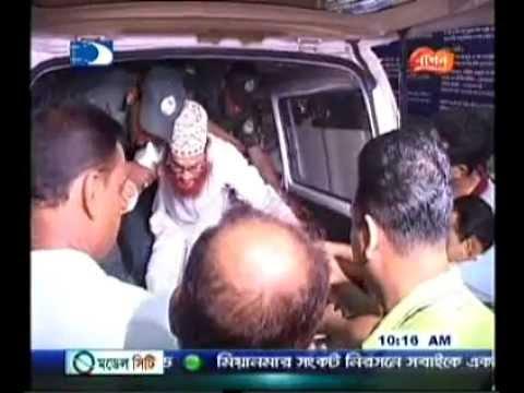 Jamaat Dhaka City Press. Allama Sayedee-Bardem Hospital -a Borti hon,