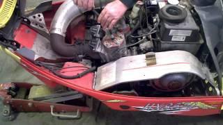 10. LOT 2340A 2002 Polaris EDGE X 600 Engine Compression TEST