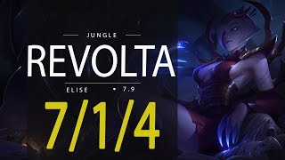 ~~~~Deixe o seu like, se inscreva e comente!~~~~BIank Space League of Legends ReplayRevolta as ELISE - Season 7Patch 7.9Runas e Talentos:http://matchhistory.br.leagueoflegends.com/pt/#match-details/BR1/1077231838/211934421?tab=builds&participant=8