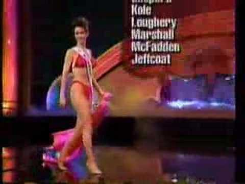 Miss USA 1995- Swimsuit Competition