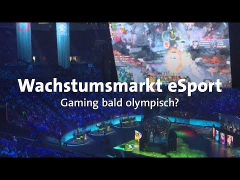 Gamescom: eSport im Aufwind