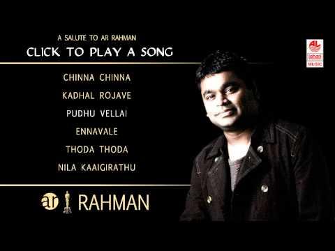 A R Rahman Tamil Hit Songs Jukebox – 1